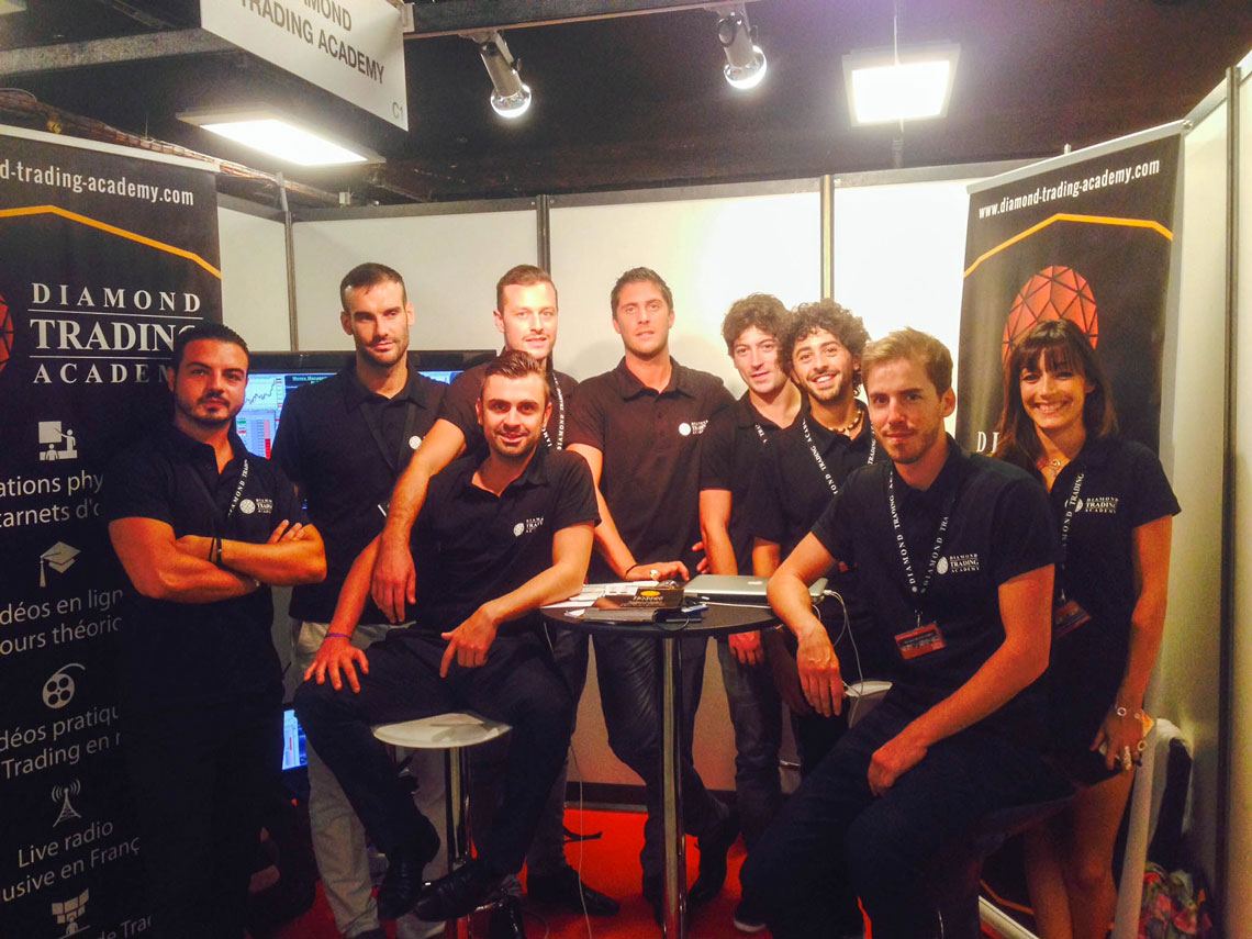 Salon Trading 2014 Paris - Diamond Trading Academy